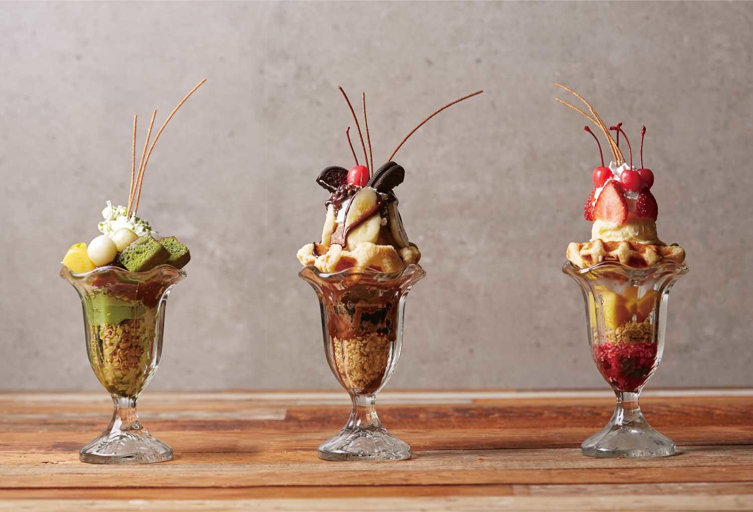 Colorful Parfaits